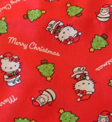 Hello Kitty Christmas (red)
